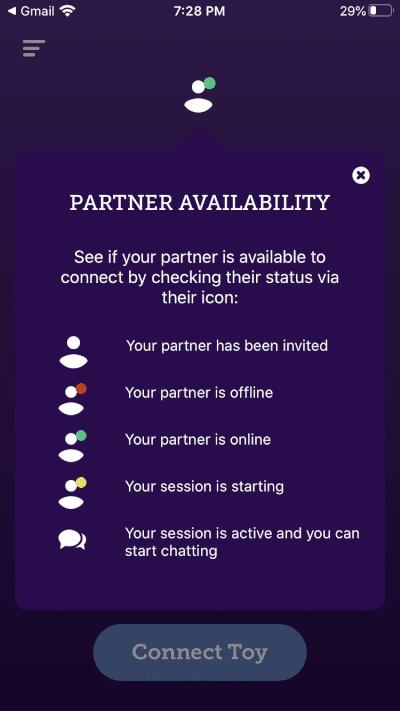 partner chat session