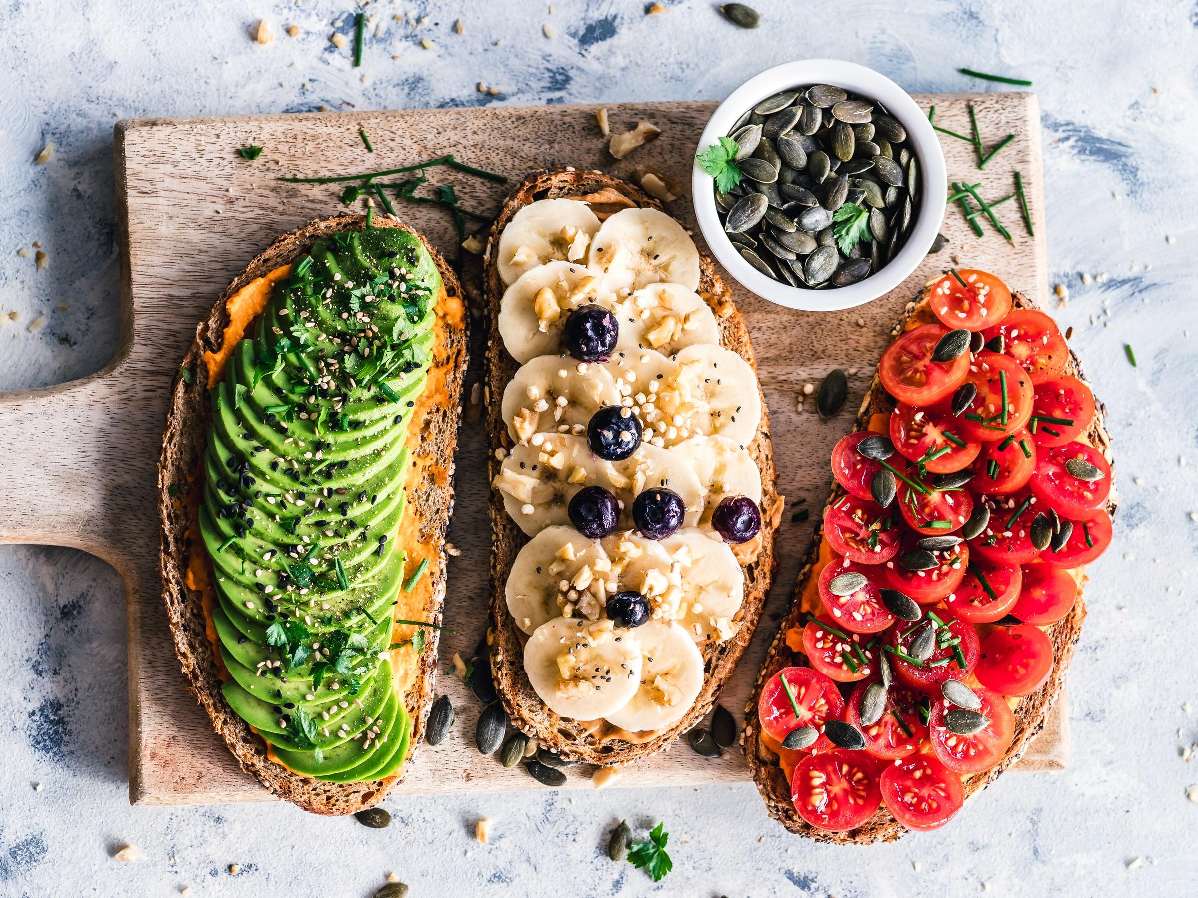 vegan platter